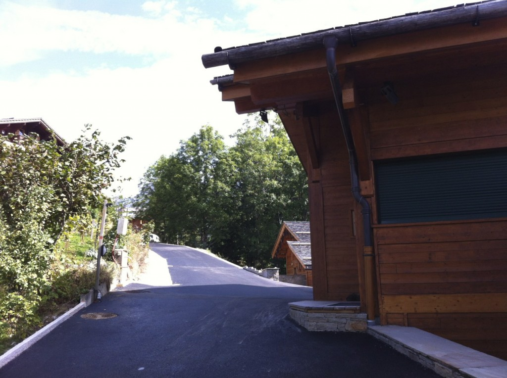 route chalet